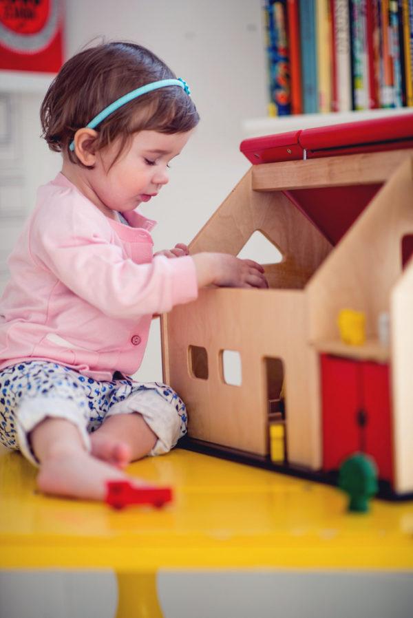 Drewniany domek - zagroda