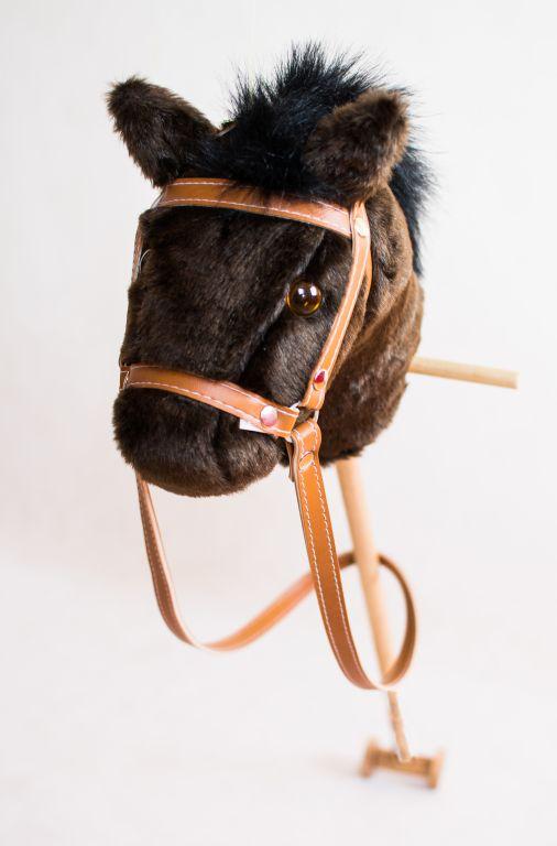 Drewniany koń na kiju Franio