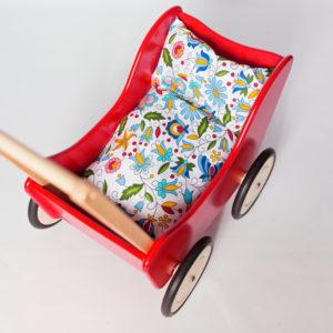 Pościel - śpiworek do wózka dla lalek - folk